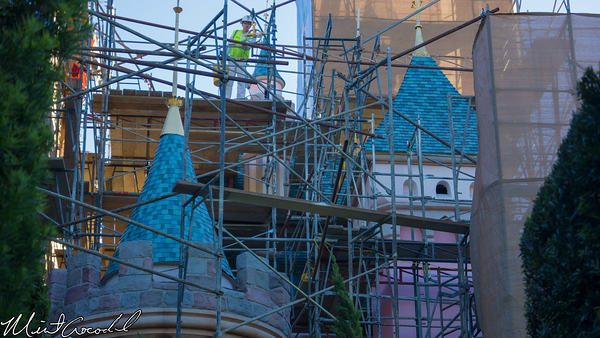 Disneyland Resort, Disneyland, Sleeping, Beauty, Castle, Refurbishment, Refurbish, Refurb, Disneyland60