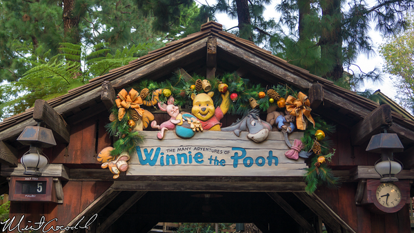 Disneyland Resort, Disneyland, Critter Country, The Many Adventures of Winnie the Pooh, Christmas Time, Christmas