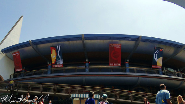 Disneyland, Tomorrowland, Innoventions, Iron Man, Stark Industries