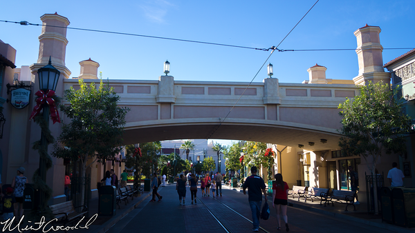 Disneyland Resort, Disney California Adventure, Buena Vista Street, Christmas Time