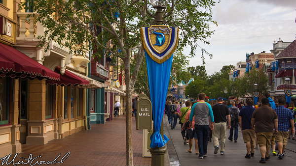 Disneyland Resort, Disneyland, Disneyland60, Diamond, Celebration, Bunting, Flag, Banner, Decor, Decoration, Main Street U.S.A.