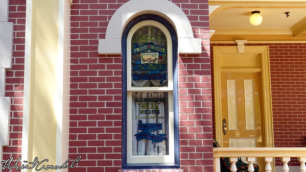 Disneyland, Main Street USA, Buzz Price, Window