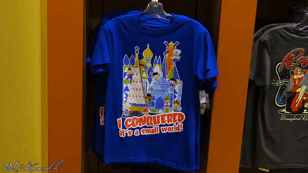 Disneyland Resort, Disneyland, it's a small world, Conquered, Shirt