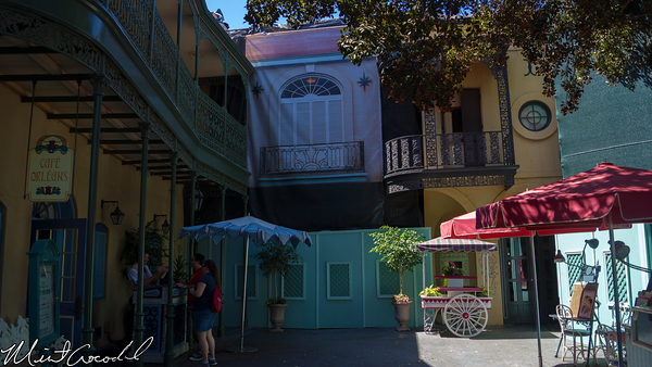 Disneyland Resort, Disneyland, New Orleans Square, Rooftop, Club 33, Refurbishment, Refurb