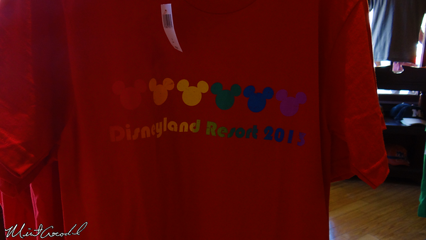 Disneyland Resort, Disneyland, Gay Day, Merchandise