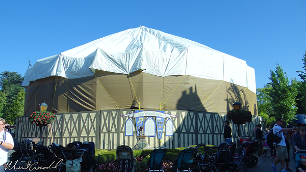 Disneyland Resort, Disneyland, King Arthur Carrousel, Refurbishment, Refurb