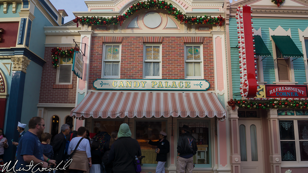 Disneyland Resort, Disneyland, Main Street U.S.A., Candy Cane