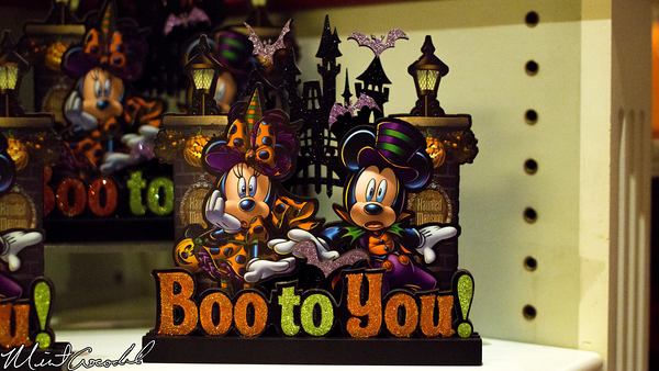 Disneyland Resort, Disneyland, Main Street U.S.A., China Closet, Halloween, Merchandise