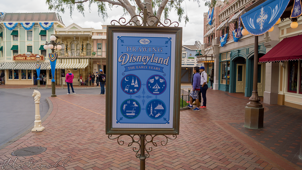 Disneyland Resort, Disneyland60, 60, Anniversary, 24, Hour, Party, Celebration, Kick, Off, Disneyland, Main Street U.S.A., Disneyana, Disney, Gallery, Ink, Paint, Department, Dept