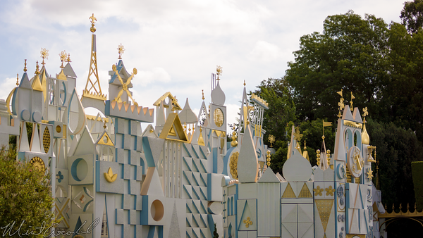 Disneyland Resort, Disneyland60, Disneyland, Fantasyland, it's a small world, Facade
