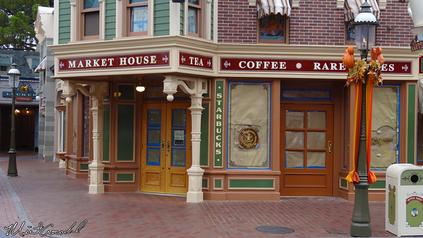 Disneyland Resort, Disneyland, Market House, Starbucks