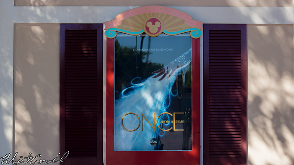 Disneyland Resort, Main Entrance Plaza, Once Upon A Time, Frozen, Advertisement, Ad