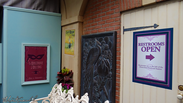 Disneyland Resort, Disneyland, New Orleans, Club 33, Refurbishment, Refurb, Signs, Perfume