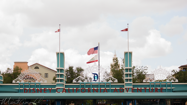 Disneyland Resort, Disneyland60, 60, Anniversary, 24, Hour, Party, Celebration, Kick, Off, Disney California Adventure, Entrance, Turnstile