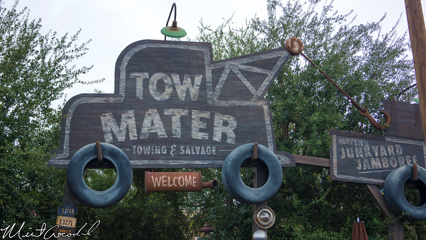 Disneyland Resort, Disney California Adventure, Cars Land, Mater's, Junkyard, Jamboree, Refurbishment, Refurbish, Refurb