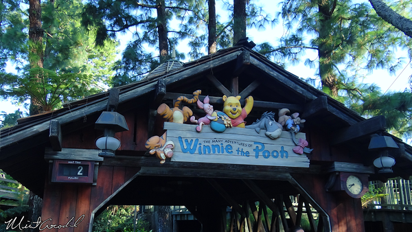 Disneyland Resort, Disneyland, Critter Country, Winnie the Pooh