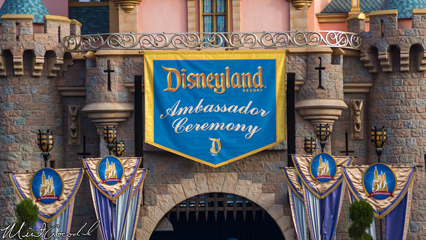Disneyland Resort, Disneyland, Sleeping Beauty Castle, Ambassador, 50