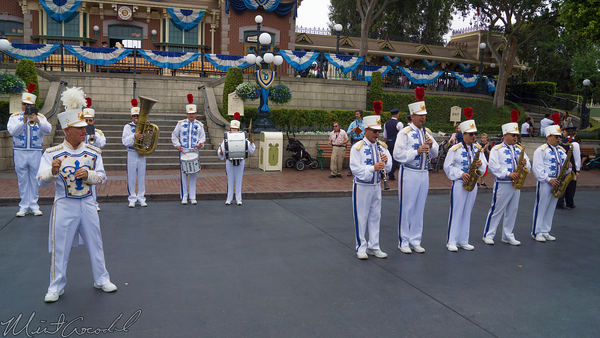 Disneyland Resort, Disneyland60, Disneyland, Band, Sleeping, Beauty, Castle, Main Street U.S.A.