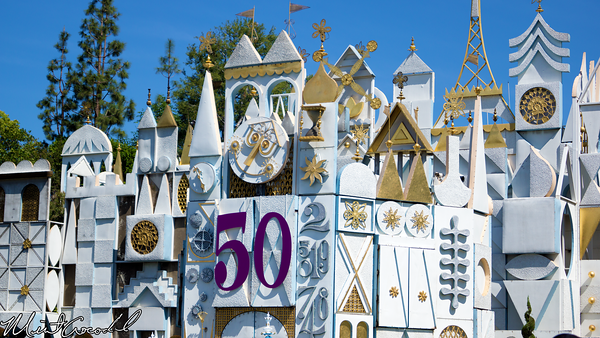 Disneyland Resort, Disneyland, it's a small world, 50th, Richard Sherman, Composer