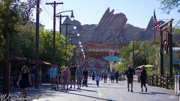 Disneyland Resort, Disney California Adventure, Cars, Land, Route, 66