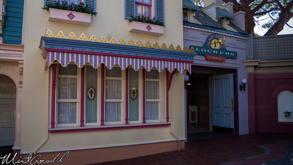 Disneyland Resort, Disneyland, Main Street U.S.A., Lockers