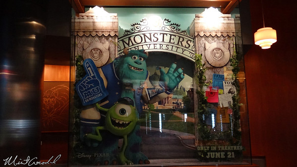 Disneyland Resort, Disney California Adventure, Animation Building, Monsters University