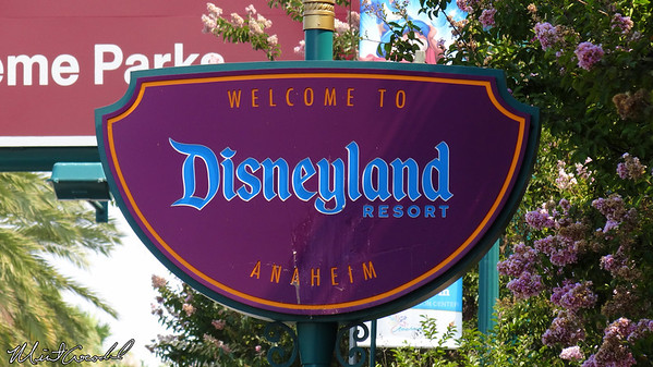 Disneyland Resort, Sign
