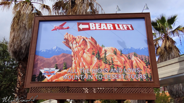 Disneyland Resort, Disney California Adventure, Condor Flats, Billboard