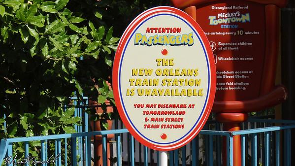 Disneyland Resort, Disneyland, Mickey's Toontown Station