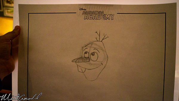 Disneyland Resort, Disney California Adventure, Frozen Fun, Frozen, Hollywood Land, Animation, Building, Academy, Do, You, Want, To, Draw, Snowman, Olaf