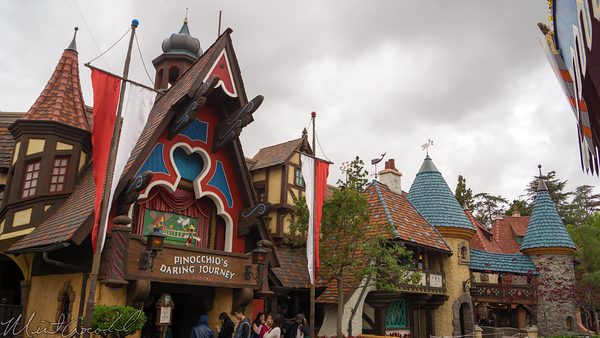 Disneyland Resort, Disneyland60, 60, Anniversary, 24, Hour, Party, Celebration, Kick, Off, Disneyland, Pinocchio, Facade, Gepetto