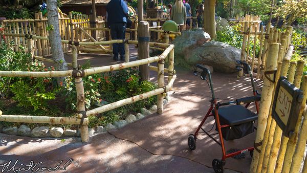 Disneyland Resort, Disneyland, Winnie, Pooh, Critter, Country, Wheelchair, Gate, Path, Shortcut, Refurbishment, Refurb, Refurbish