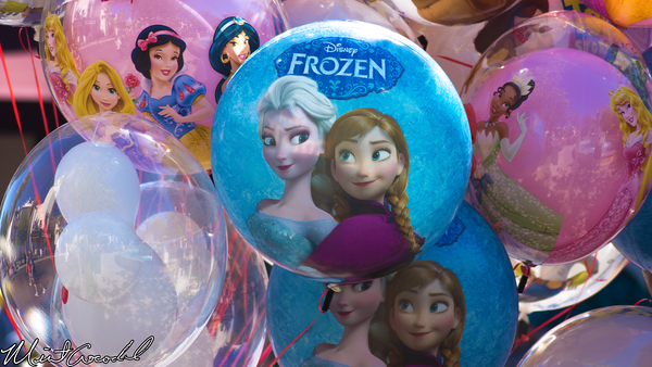 Disneyland Resort, Disney California Adventure, Frozen, Balloon