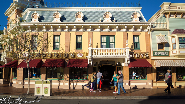 Disneyland Resort, Disneyland, Main Street U.S.A., Camera, Window