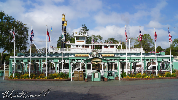 Disneyland Resort, Disneyland, Fronntierland, Mark Twain