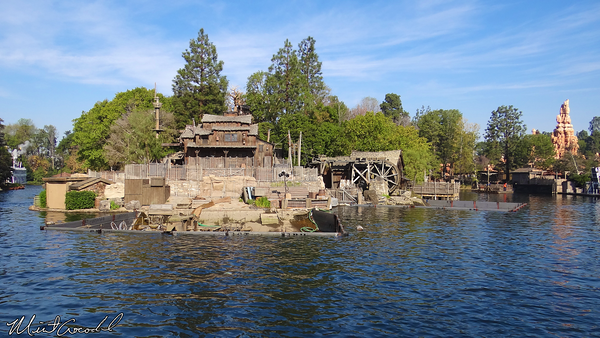 Disneyland Resort, Disneyland, Rivers of America, Fantasmic, Refurbishment, Refurb