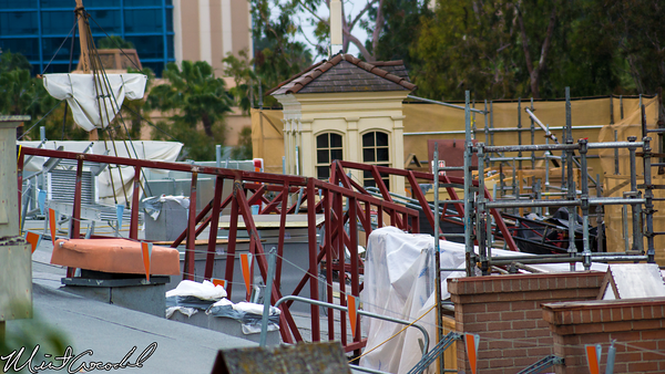 Disneyland Resort, Disneyland, New Orleans Square, Roof, Club 33, Refurbishment, Refurb