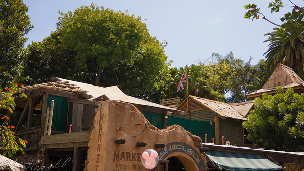 Disneyland Resort, Disneyland, Adventureland, Jungle, Cruise, Boathouse, Queue, Refurbishment, Refurbish, Refurb