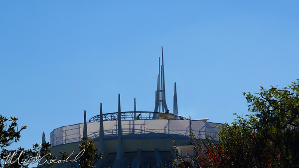 Disneyland Resort, Disneyland, Space Mountain, Safety Rail, Scaffolding