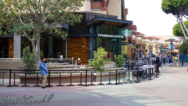 Disneyland Resort, Downtown Disney, Starbucks