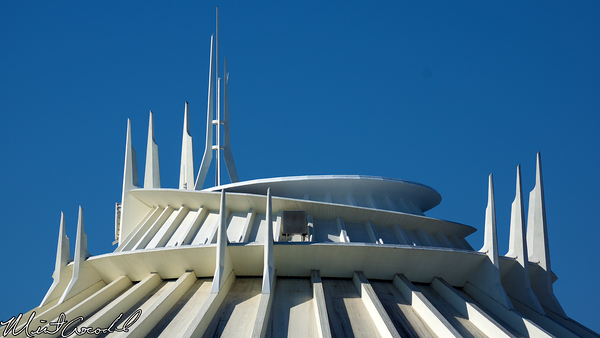 Disneyland Resort, Disneyland, Space Mountain, Top, Ring