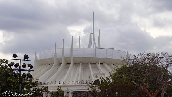 Disneyland Resort, Disneyland, Space Mountain, Scaffolding, Safety Rail