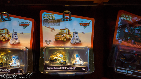 Disneyland Resort, Disney California Adventure, Cars Land, Cars, Star Wars, Cross, Promotion