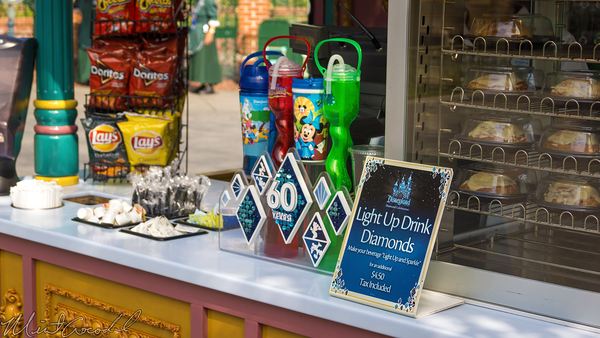 Disneyland Resort, Disneyland60, Disneyland, New, Orleans, Square, Outdoor, Vending, Pedestal