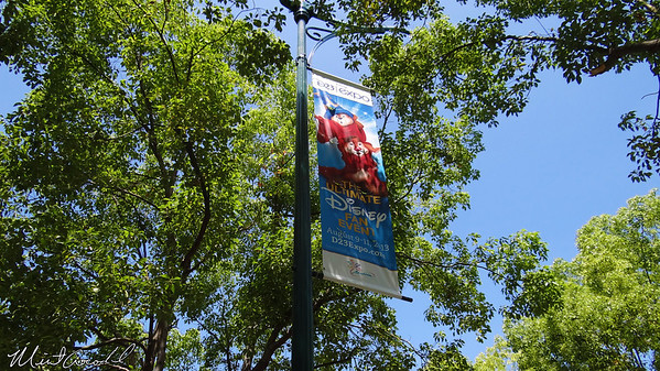 Disneyland Resort, D23 Expo, Banner