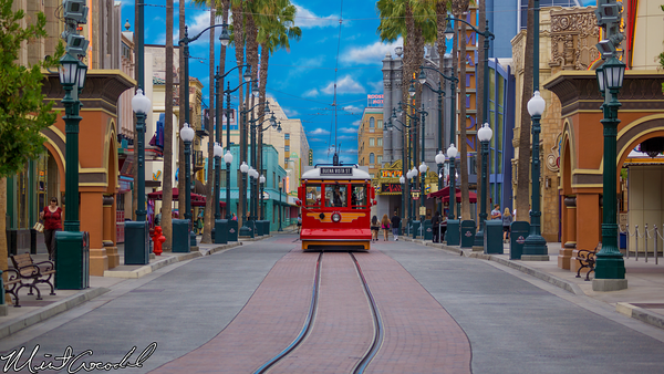 Disneyland Resort, Disney California Adventure, Red Car Trolley, HollywoodLand