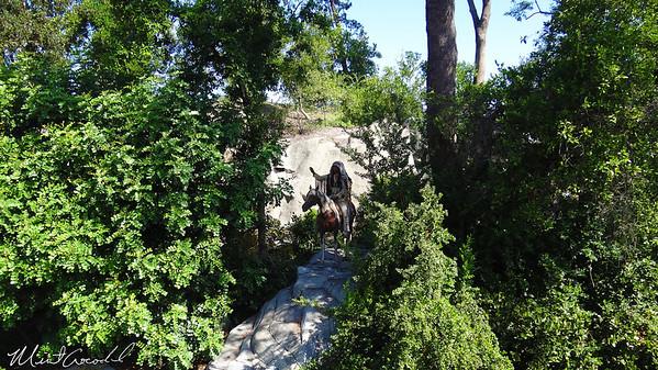 Disneyland, Rivers of America, Indian Chief, Mark Twain
