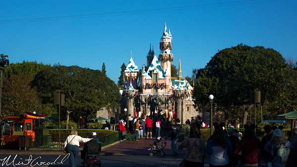 Disneyland Resort, Disneyland, Main Street U.S.A., Christmas Time, Christmas, Sleeping, Beauty, Castle