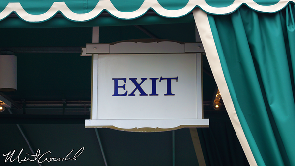 Disneyland Resort, Exit