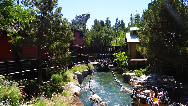 Disneyland Resort, Golden State, Grizzly River Rapids